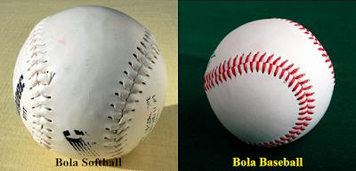 Bola yang Digunakan Dalam Olahraga Softball dan Baseball