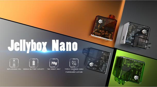 Let Rincoe Jellybox Nano Kit facilitates your life