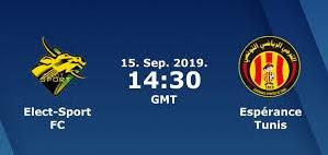 مشاهدة مباراة الترجي وإليكت سبورت بث مباشر اليوم 15-9-2019 في دوري ابطال افريقيا