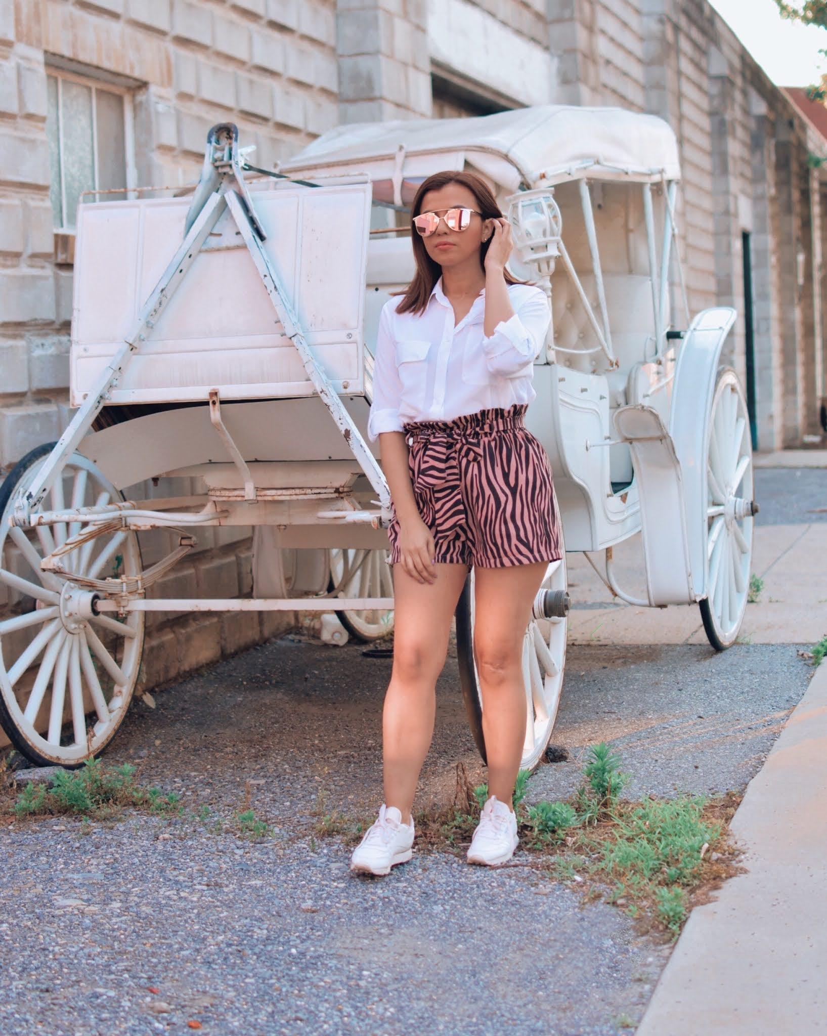 Como combinar una camisa blanca en verano-como crear outfits desde cero-mariestilo-como verte siempre arreglada-