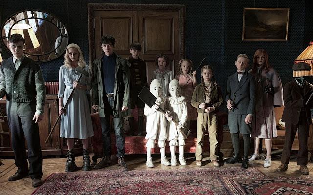 O Lar das Crianças Peculiare, Dica de Cinema,Tim Burton