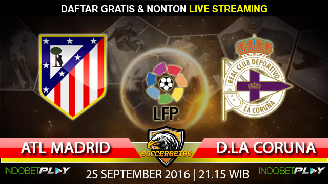 Prediksi Atletico Madrid vs D.La Coruna 25 September 2016 (Liga Spanyol)