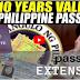 GOOD NEWS! 10-YEAR VALIDITY NG PASSPORT PIRMADO NA NI PRRD