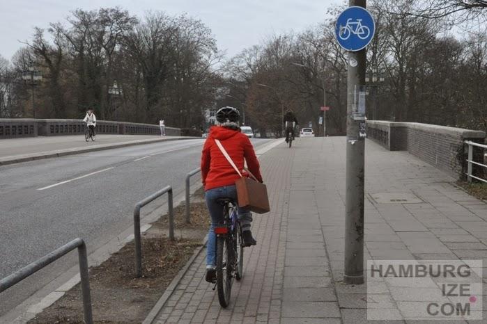 hamburgize.com: Bessere Radwege rund um die Außenalster?