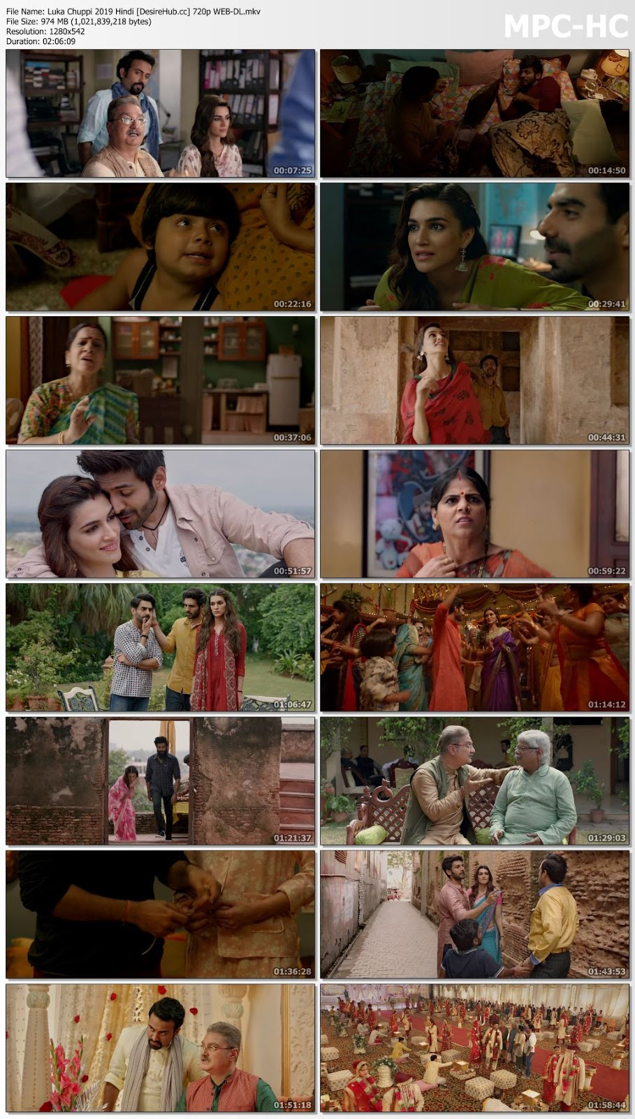 Luka Chuppi 2019 Hindi 720p WEB-DL 950MB Desirehub