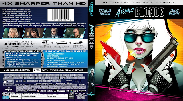 Atomic Blonde 4k Bluray