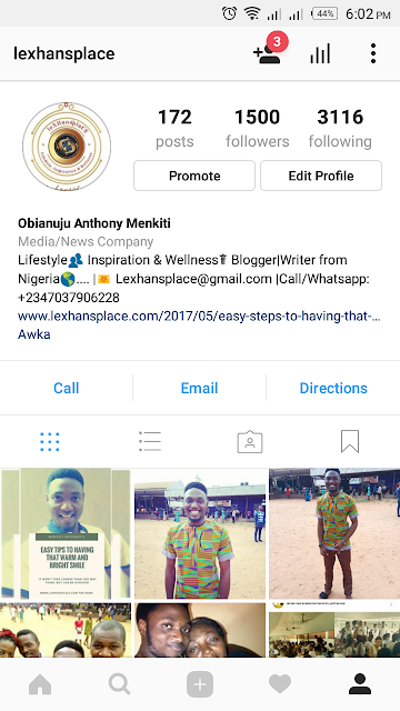 lexhansplace gets over 1500 instagram followers