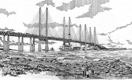 Larne to Portpatrick Bridge