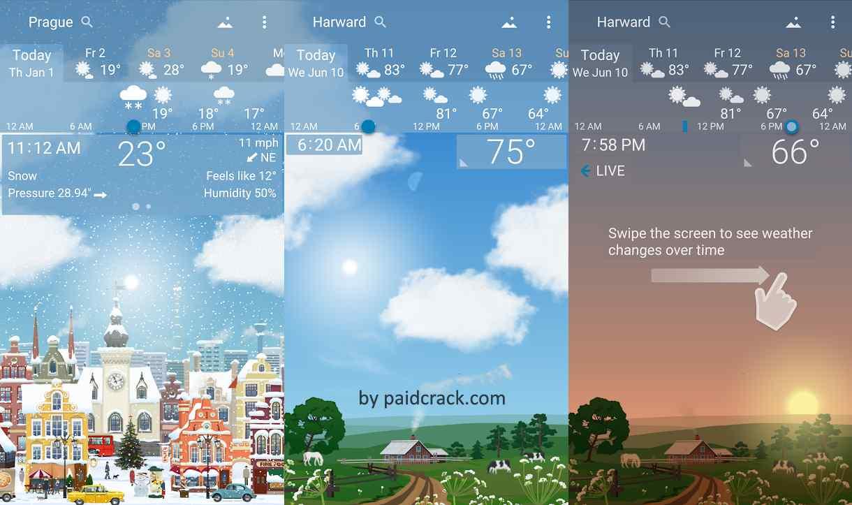 YoWindow Weather - Unlimited Mod Apk 2.26.10 [Paid]