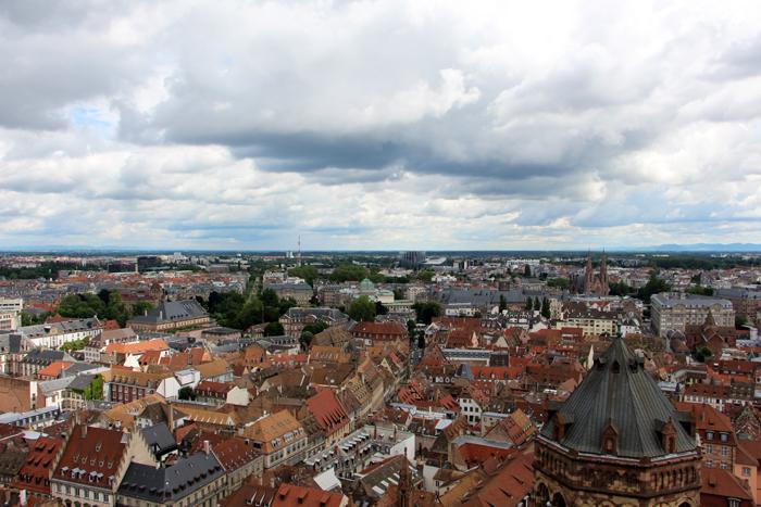 Blick vom Strasbourger Münster