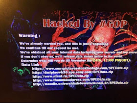 Sony Pictures HACKED; Worldwide Studio-Staff Computers Seized by Hackers