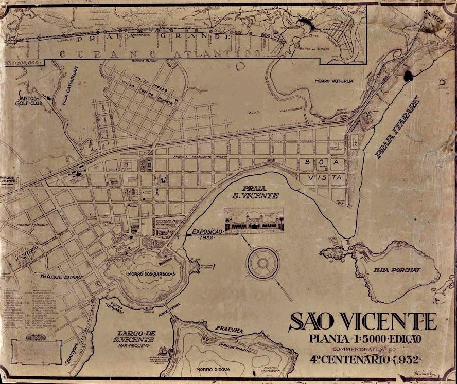 Mapa Turístico do IV Centenário