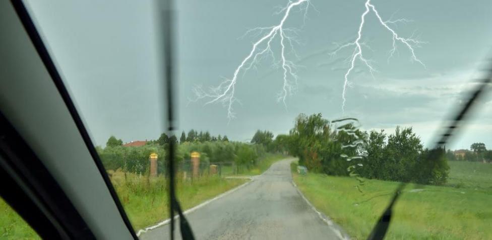 Advierten por tormentas fuertes durante la tarde del domingo en la región