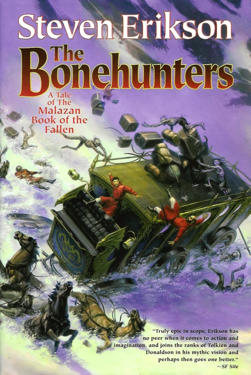 Book Review: The Bonehunters by Steven Erikson (The Malazan Book of the  Fallen book 6)