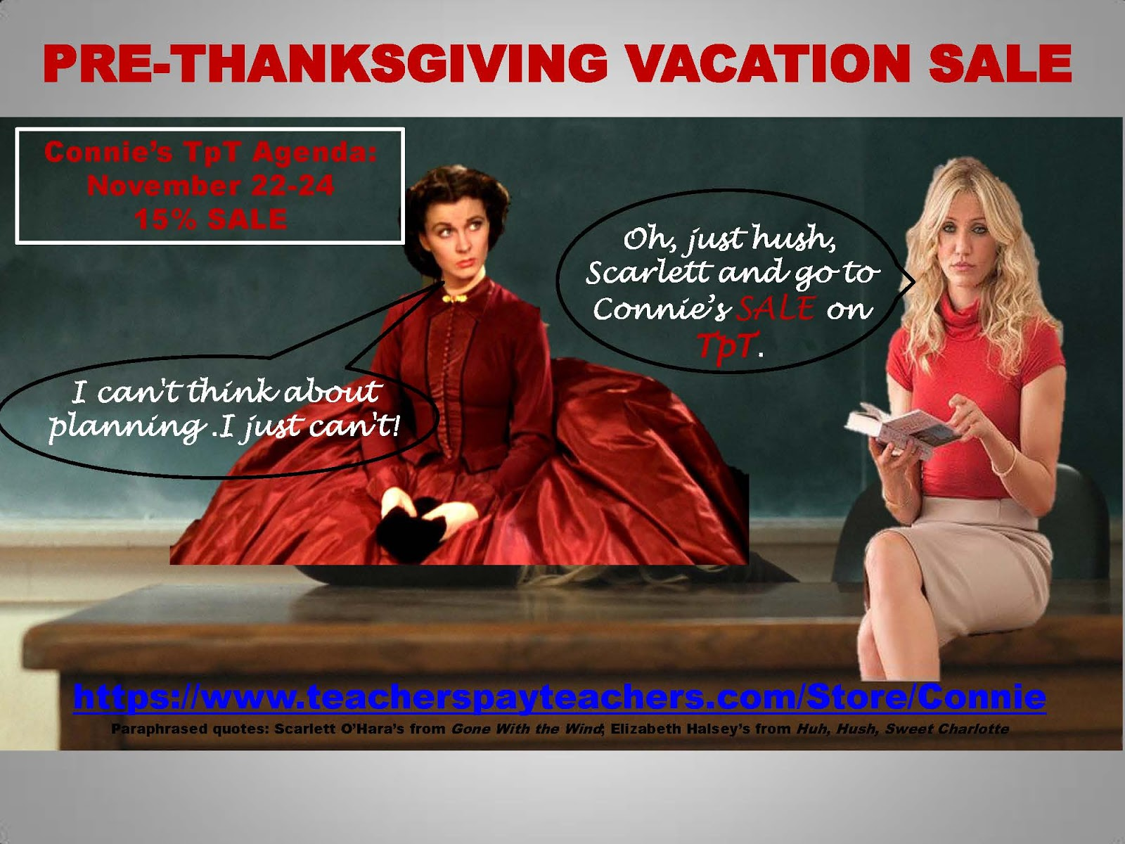 Teach It Write Pre Thanksgiving Vacation Tpt Sale