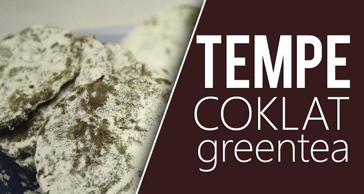Membuat Cemilan Nikmat Tempe Coklat Greentea