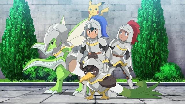 Pokémon viajes maestros capitulo 8: ¡En busca de la gallardía!