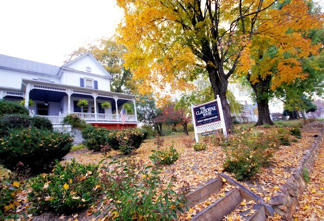 Parking off street Blue Ridge Parkway_Claiborne House bed and breakfast virginia va