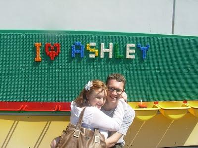 Legoland Carlsbad at Halloween.