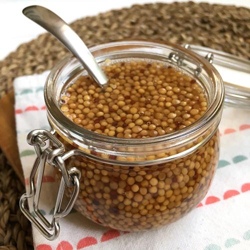 Senf-Kaviar
