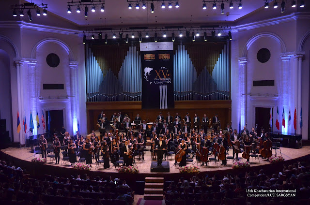 15th  Khachaturian International Competition in 2019 (Photo Lusi Sargsyan)