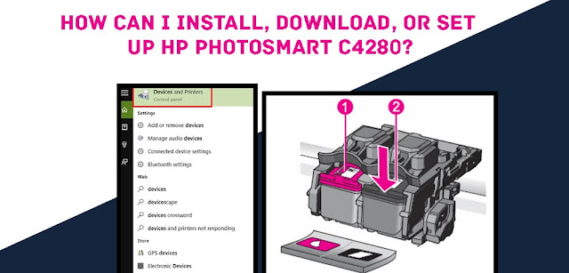 install HP Photosmart C4280 Driver without CD or Driver