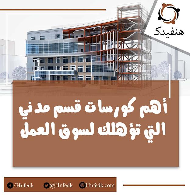 كورسات قسم الهندسة المدنية