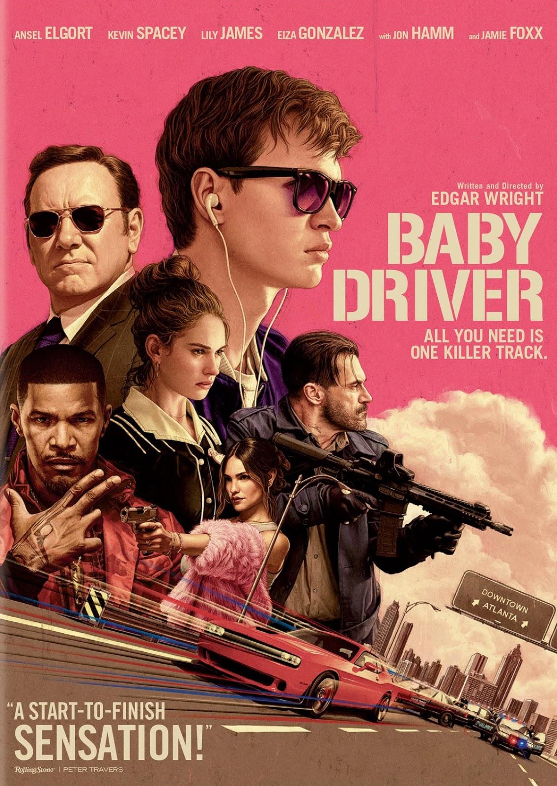 Baby Driver (2017) จี้ [เบ] บี้ปล้น