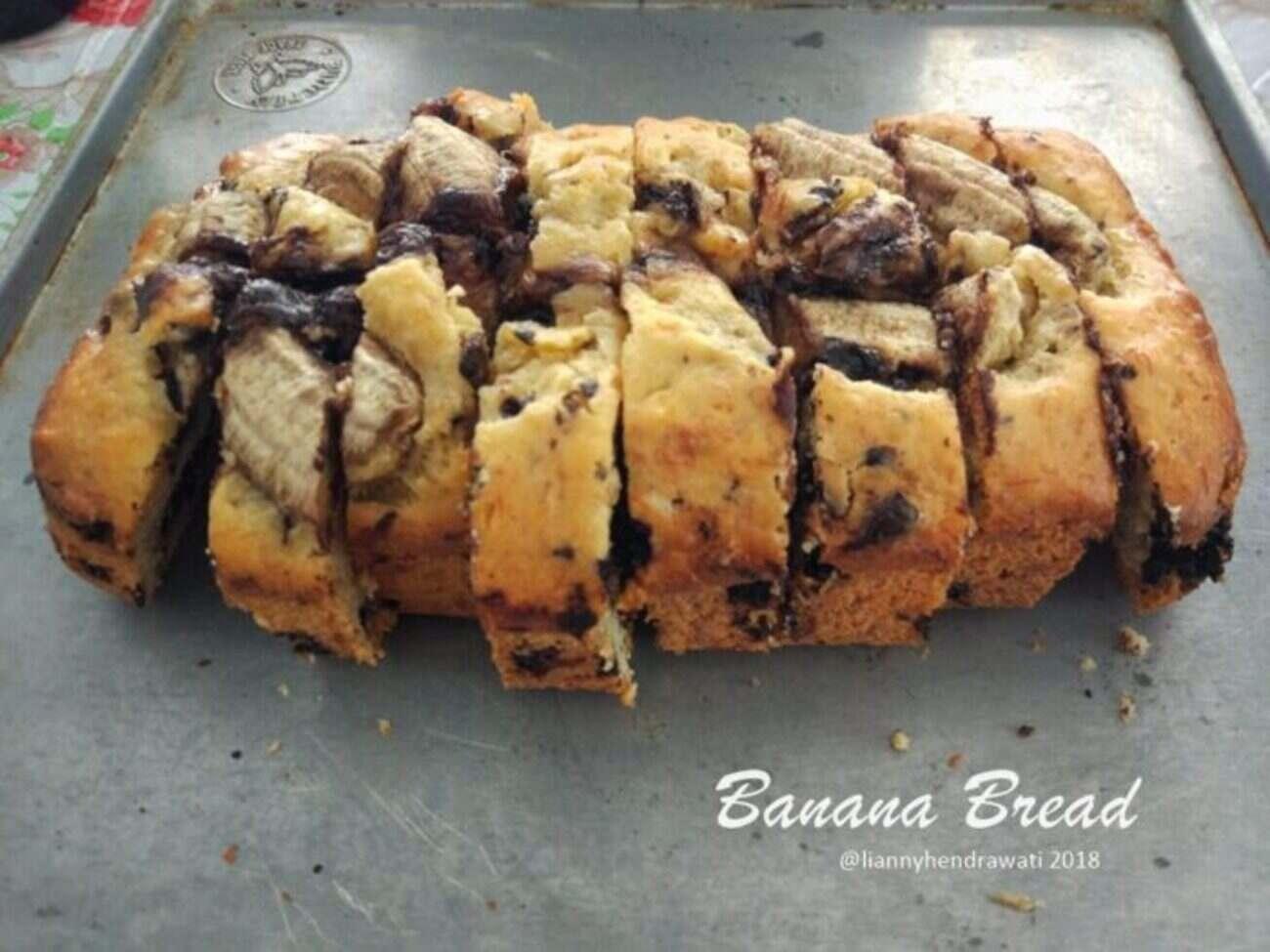 Resep Banana Bread, Roti Klasik Dari Negeri Paman Sam