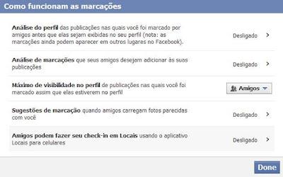 Como funcionam as marcações no Facebook