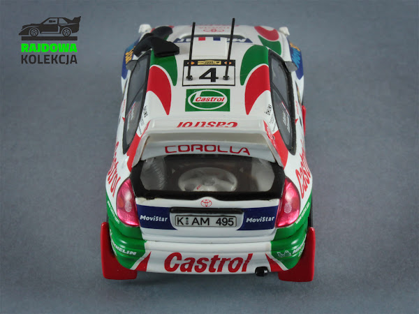 AUTOart Toyota Corolla WRC Safari Rally 1999