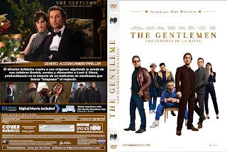 CARATULA THE GENTLEMEN LOS SEÑORES DE LA MAFIA 2020[COVER DVD]