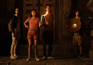 Download Dora and the Lost City of Gold (2019) Hindi Dual Audio 720p BRRip || MoviesBaba 4