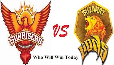 GL VS SRH Prediction