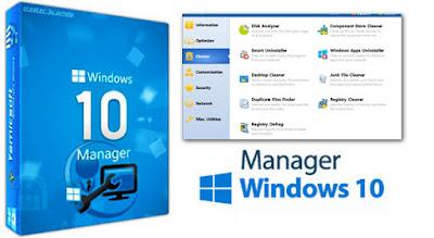 تحميل برنامج 2018 Windows 10 Manager لاصلاح و صيانة ويندوز 10