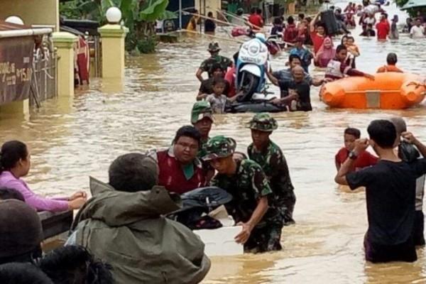 Kota Samarinda Tergenang Banjir Akses Menuju Bandara Terganggu
