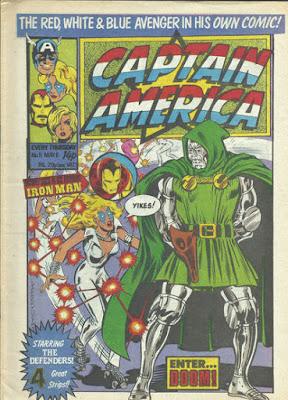 Captain America #11, Dazzler vs Dr Doom