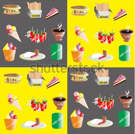 illustration stock seamless pattern