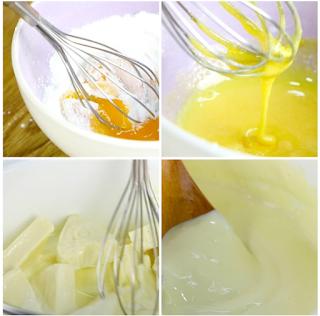 Cách làm bánh mì phô mai tan chảy dùng gelatine 4
