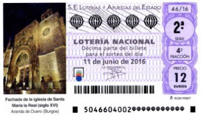 lotería nacional especial junio