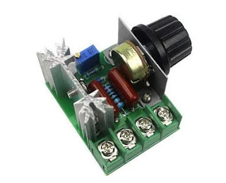 Triac Operates Dimmer, Electronic Dimmer