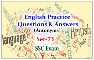 Practice English Questions (Antonyms)