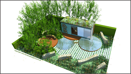 Shipping Container Garden Office At Chelsea Flower Show