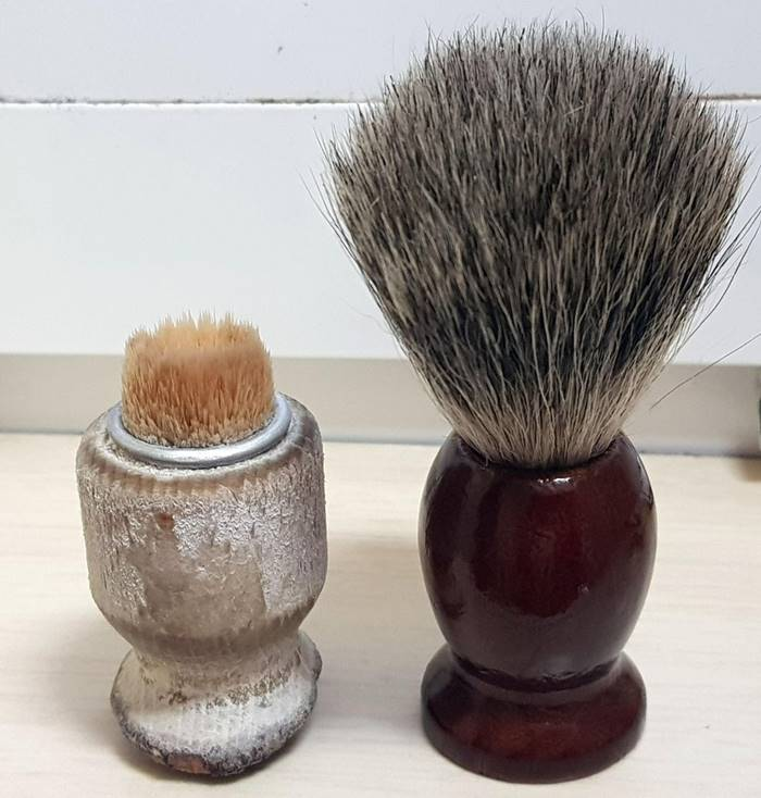 Bought my father new beard brush after using this one for 30+ years