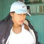Andrea Rincon, Selena Spice Galeria 33: Gorra Azul, Cachetero Azul Foto 7
