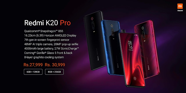 Redmi K20 series launched in India: Starts at Rs. 21,999