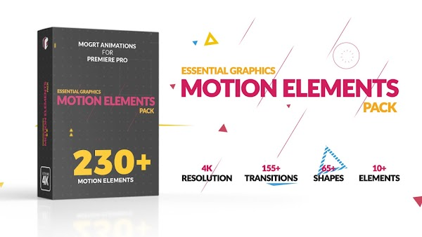 Motion Elements Pack - Motion Graphics Templates