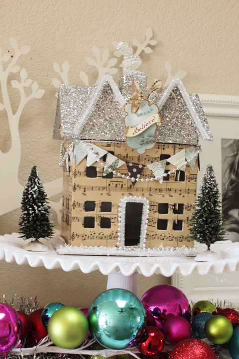 Glitter Holiday Houses Swell Noel Idea 9 Positively