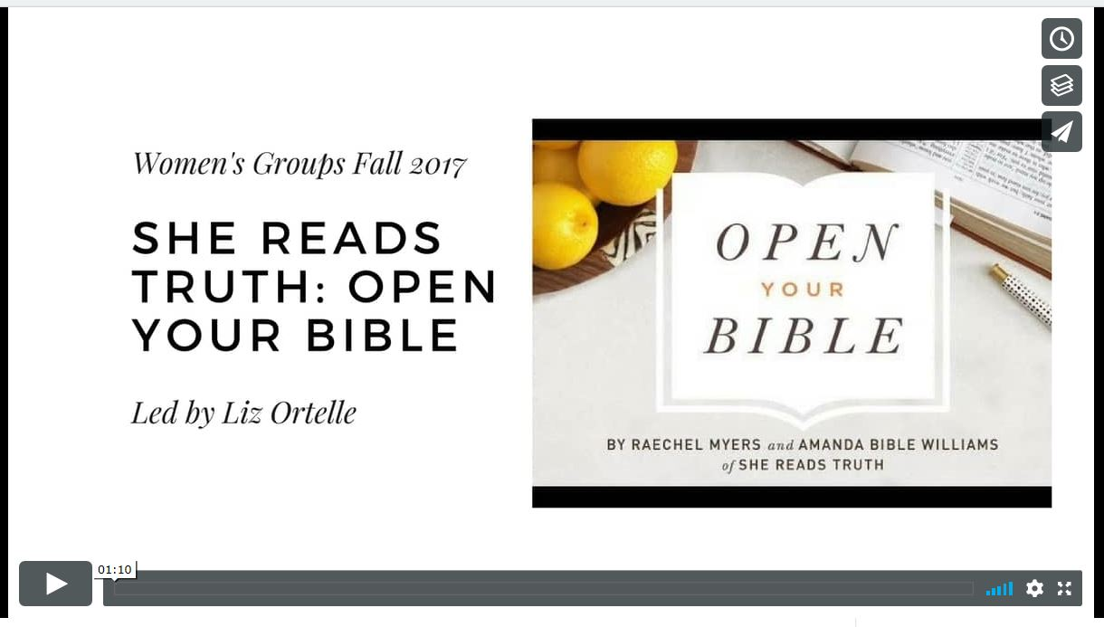 She Reads Truth: Open Your Bible