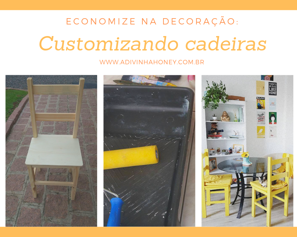 customizando cadeiras